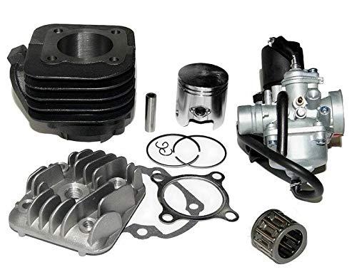 UNTIMERO 70cc Racing Zylinder KIT Kopf VERGASER Set für MBK SORRISO abBj96 Flipper 50 Zylinderkit