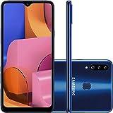 Smartphone Samsung Galaxy A20S 32Gb Dual Chip Android 9.0 Tela 6.5' Octa-Core 1.8 Ghz 4G Câmera Tripla 13.0 Mp + 5.0 Mp + 5.0 Mp(Uw) - Azul