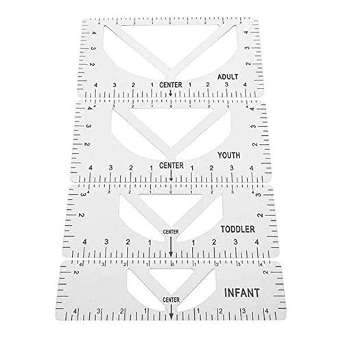 Halllo Camiseta de manga corta con diseño de Ruler para adultos y niños