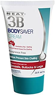 Neat Feat 3B Body Saver Skin Chafing Antiperspirant Cream, 2.6 Fluid Ounces by Neat Feet