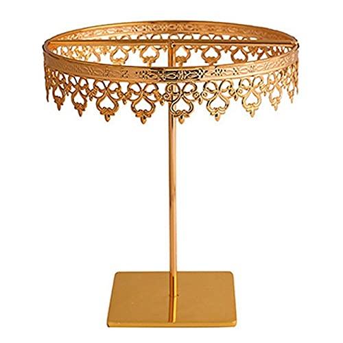 XIAOFANG Titular de la joyería Pendientes de Gota de Regalo de la Princesa del hogar Collar de la Corona del Pendiente del Pendiente del Collar del Collar de la Pantalla del Collar (Color : Golden)