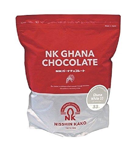 【冷蔵便】●日新化工 ガーナホワイト33 2kg