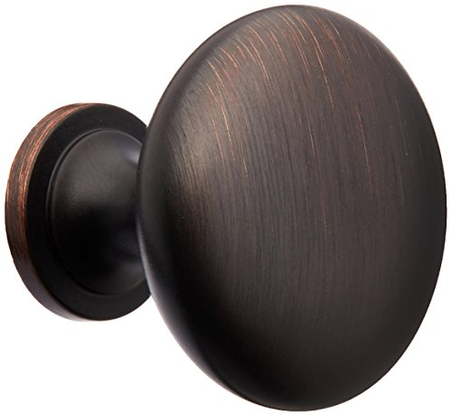Amerock BP53005ORB 2 Pack Allison Value Hardware Round Knob, Oil Rubbed Bronze Amerock Rope Cabinet Knob