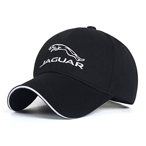 CHNNFC Embroidered Car Logo Adjustable Baseball Cap, Unisex Hat Travel Cap Racing Motorcycle Cap (Jaguar)