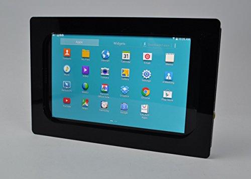 TABcare - Kit antirrobo para Samsung Galaxy TAB E 7 Lite para quiosco, puntos de venta, tienda, exhibición (negro VESA)