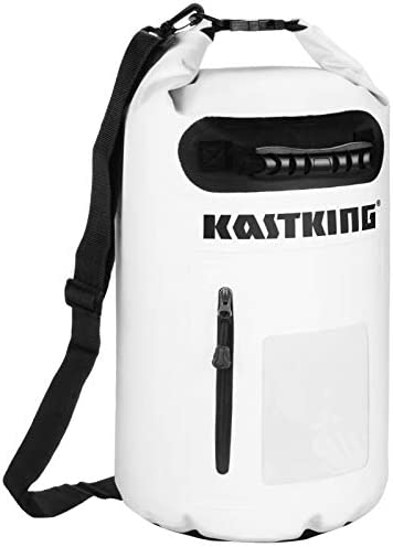 KastKing Dry Bag with Zippered Compartment and Grab Handle 30L White product image