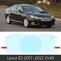 レクサス es 2007 ? 2020 XV40 XV60 XZ10 40 コシェバックミラー保護フィルムアンチフォグフィルムアクセサリー防水車のステッカー-Lexus ES 2007-2012