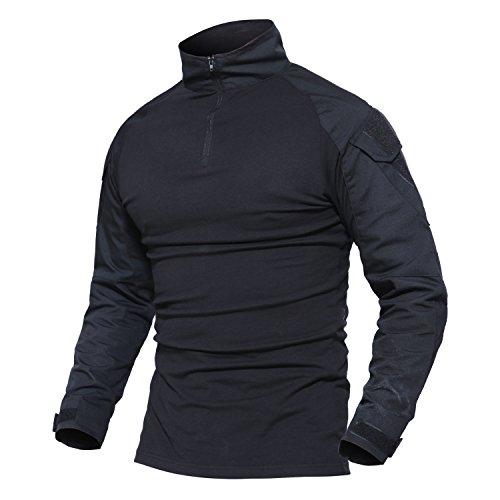 Shirt Jackets Men's Black