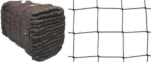 Teichnetz Teichschutznetz Vogelschutznetz Laubnetz schwarz Masche 10 cm Stärke: 1,2 mm Breite: 4,00 m Meterware