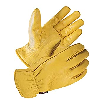 SKYDEER Full Premium Genuine Deerskin Leather Hi-Performance Utility Driver Work Gloves  SD2210/L Unlined