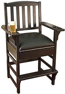 American Heritage Billiards King Billiard - Game Room Chair , Brown