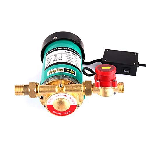 SHYLIYU 90W Umwälzpumpe 25l/min Heißwasserpumpe Druckhöhungspumpe Ausgang 19mm Wasserpumpe Automatischer Haushalt Booster Pumpe für und Garten Wasserpumpe und umwälzpumpe Hohe Druckpumpe