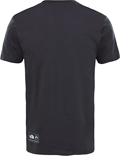 The North Face M S/S NSE Series tee Camiseta, Hombre, Gris, XL