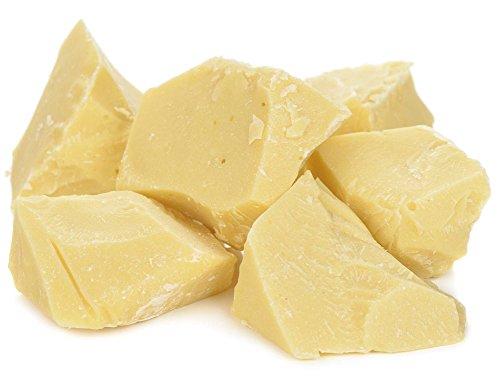 Raw Organic Cocoa Butter Chunks by Its Delish, 4 lbs (64Oz) | 100% Natural Cocoa Butter for Soap and Chocolate Making
