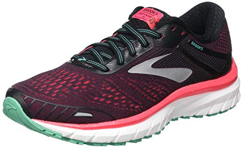 Brooks Defyance 11, Zapatillas para Correr Mujer, Black Pink Green, 36.5 EU