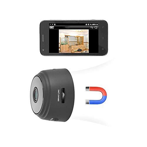 Cámaras espía Oculta, Mini Camaras Espias WiFi 1080P HD, C