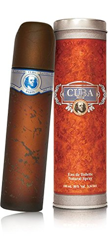 Cuba Blue by Cuba for Men - 3.4 Ounce EDT Spray