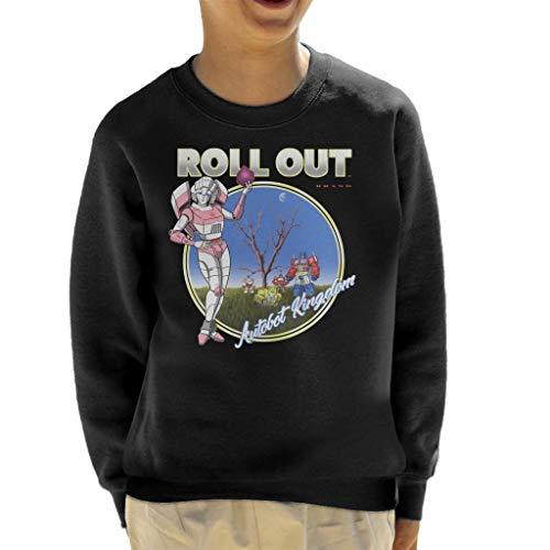 Roll Doubt Transformers Album Cover Mashup Kid's Sweatshirt