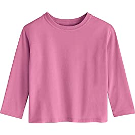 Coolibar UPF 50+ Toddler Coco Plum Everyday Long Sleeve T-Shirt...