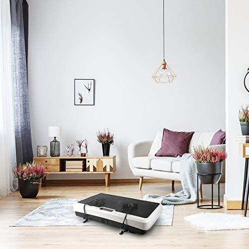 Machine de fitness de plate-forme de vibration avec une énorme machine de rejet de style maison de rejet à distance