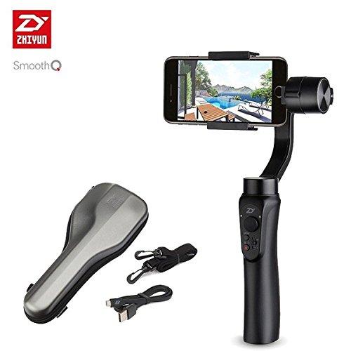 【日本正規代理店】ZhiyunSmooth-Qスマートフォン用3軸ジンバル/スタビライザー(ブラック)