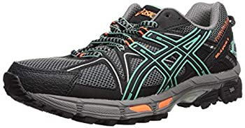 ASICS Women s Gel-Kahana 8 Running Shoe Black/Ice Green/Hot Orange 8.5 Medium US