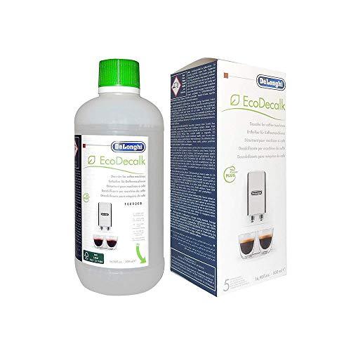 DeLongi Entkalker für Kaffeemaschinen EcoDecalk 16.90fl.oz-500ml (5 Anwendungen) von Ersatzteil +