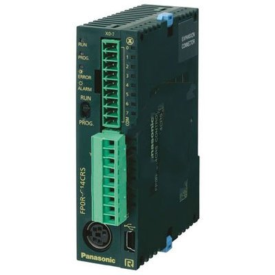 Panasonic AFP0RC10RS Controller FP0R 6in 16K Relay 4 Department store Recommended out USB