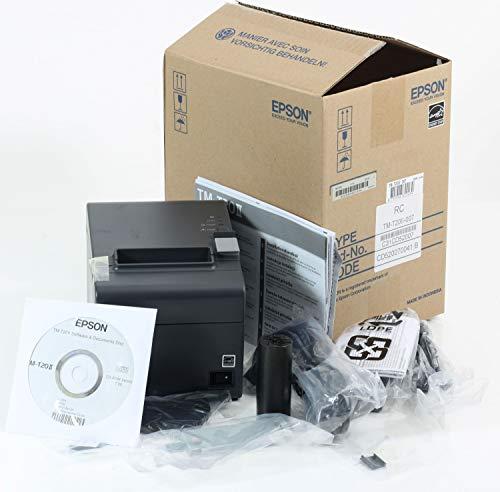 Epson TM-T20II (007) - Impresora de tickets para POS, Térmico, 200 mm/s, 203 x 203 DPI, Alámbrico,Interfaz Ethernet