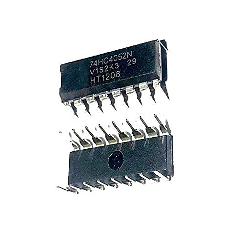 Janedream Owner 10PCS / Lot Interruptor IC de 2 circuitos 4: 1150 Ohmios 16-Dip 74HC4052N (Color : Default)