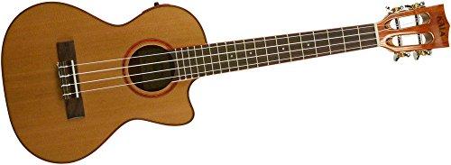 Kala KA-ATP-CTG-CE Cedar Top Cutaway Acoustic-Electric Tenor Ukulele Natural