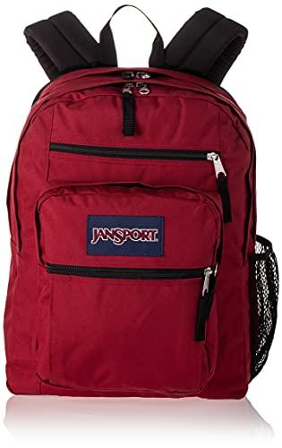 JANSPORT Grand sac à dos pour étudiant, école, voyage ou travail avec compartiment pour ordinateur portable de 38,1 cm