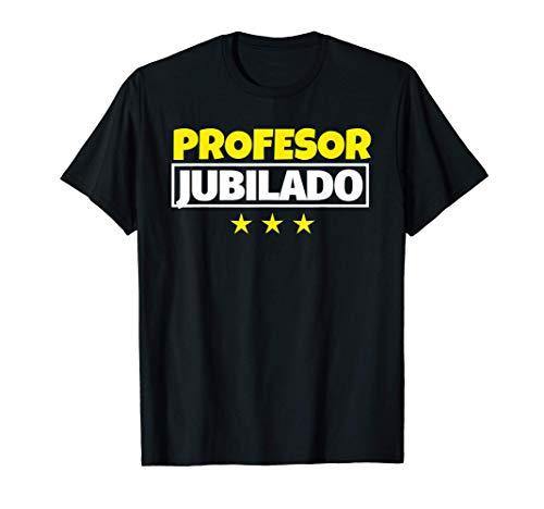 Profesor Jubilado Regalo Camiseta