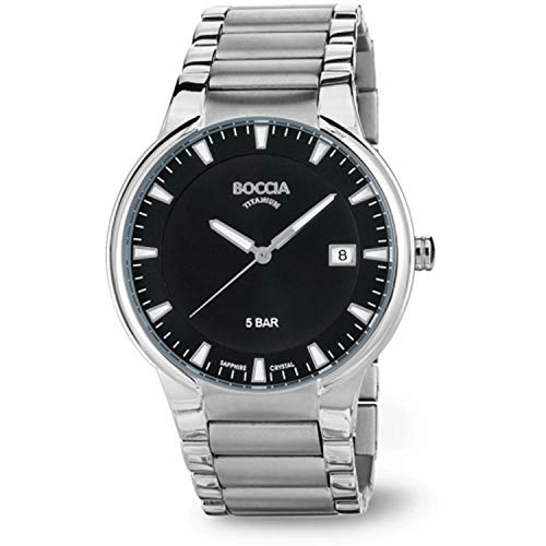 Boccia Titanium 3629-01 Reloj de Pulsera para hombres