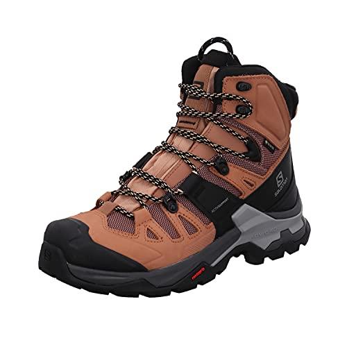 Salomon Women's Quest 4 GTX W Hiking, Sirocco/Mocha Mousse/Almond Cream, 10.5
