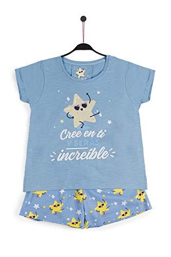 MR WONDERFUL Pijama Manga Corta Cree en Ti para Niña