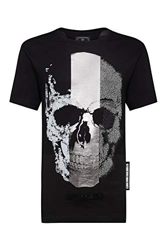 Philipp Plein - Herren T-Shirt Skul - Platinum Cut (L)