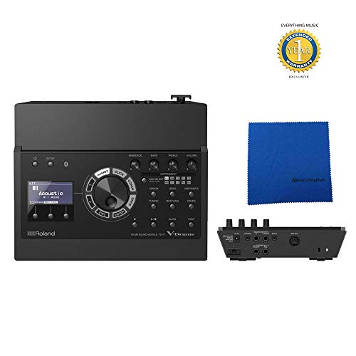Best Price! Roland TD-17 Drum Sound Module with Microfiber and Free EverythingMusic 1 Year Extended ...