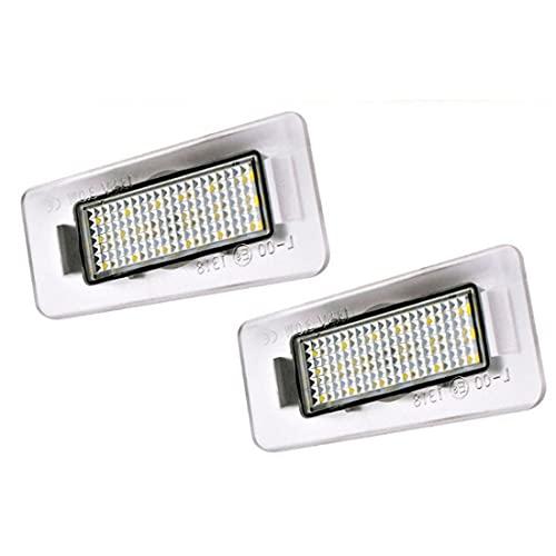 N\A Luces LED para matrícula de Coche 3528SMD compatibles con Accesorios Hyundai i30 CW Kombi Elantra Coupe
