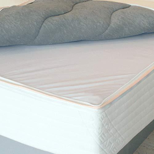 Premium Comfort Topliner/Staubschutz für Wasserbetten - Hygieneschicht zum einzippen in Premium Comfort Wasserbettbezüge - Größe 200x220 cm