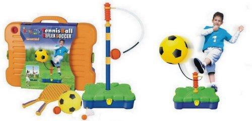 High Bounce Kings Sport 3in 1Sport Set Reflex Fußball, Badminton & Tennis Skill Trainer Kit für Kinder