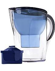 Die Alkaline su seviye Krug–3,5litre, filtre dahil, 7Stage filtre sistemi temizlenir ve pH artırır