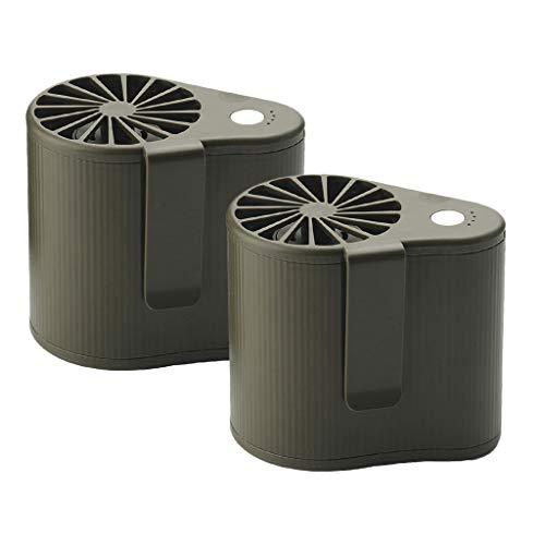 MERIGLARE Ventilador de Aire Acondicionado Móvil de 4W de Tamaño 2pcs para Pesca
