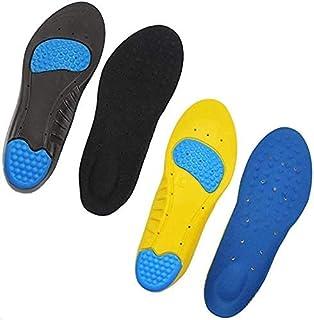 インソール 2足セット4枚 中敷き 衝撃吸収 スポーツ 立ち仕事 メンズ レディース 革靴 スニーカー ブーツ サイズ調整可能
