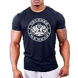 Zoom IMG-1 gymtier maglietta da bodybuilding uomo