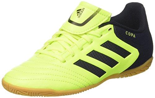 adidas Copa 17.4 In J, Zapatillas de Fútbol Niños, Multicolor (Solar Yellow/Legend Ink/Legend Ink), 33.5 EU