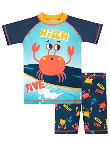 Harry Bear Jungen Zweiteiliger Badeanzug Krabbe Blau 98