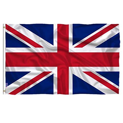 3 X 2FT Verenigd Koninkrijk Nationale Vlag de Olympische Spelen Union Jack Groot-Brittannië Britse Vlag Engeland Land Flags Banner