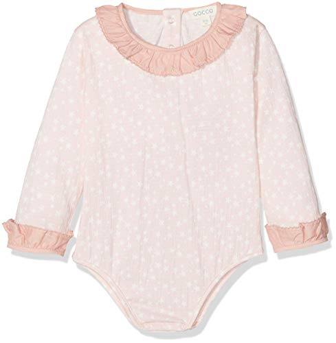 Gocco Body Estampado Estrellas, Rosa (Rosa Talco), 3-6 Meses Unisex bebé
