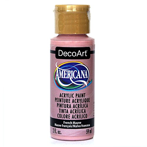 DecoArt Americana Acrylic Paint, 2-Ounce, French Mauve